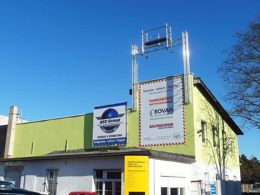 Gerüste mieten in Schwarzbach